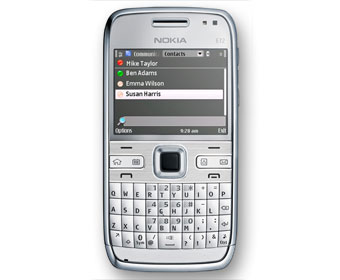 Microsoft Communicator Mobile is a unified communications client for Symbian-based Nokia smartphones