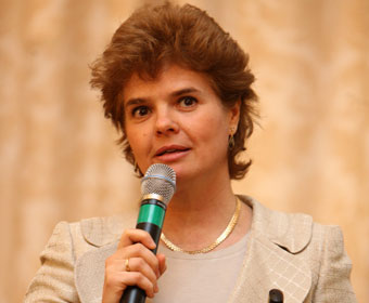 Liliana Solomon, chief executive, Vodafone Romania
