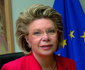 Viviane Reding, European Commissioner for the Information Society and Media