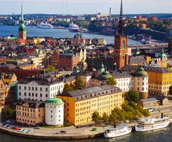 The largest number of job cuts were in the Swedish capital Stockholm.