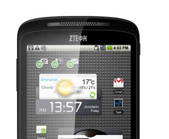 The ZTE Skate own-brand Android handset