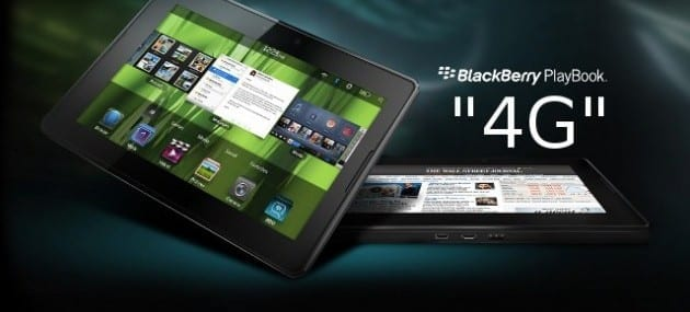 RIM will release an LTE enabled PlayBook tablet on 9 August
