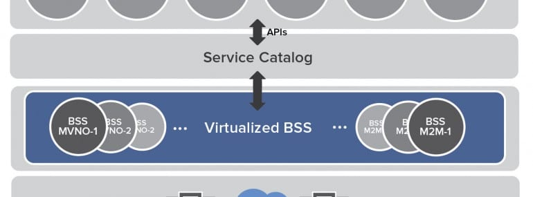 Opening virtualised BSS to partners / new service enablers