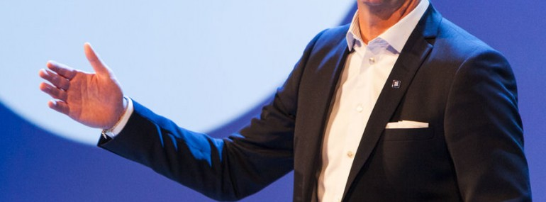 Ericsson CEO Hans Vestberg talks transformation
