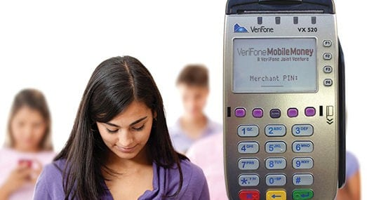 verifone mobile money