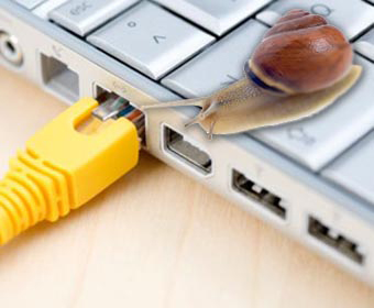 Europeans are unhappy with broadband reliablity and speeds report states