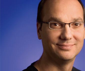 Andy Rubin, formerly Google's senior VP of mobile and digital content
