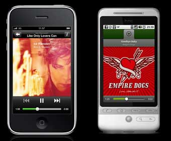 Spotify bursts onto iPhone, Android and S60