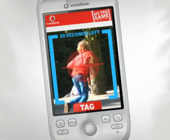 Vodafone demos augmented reality Android game