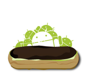 Android serves up Eclair