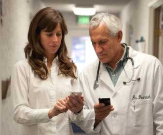 Patient in Your Pocket enables mobile healthcare professionals to access and update patient information at the point of care