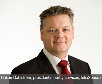 Håkan Dahlström, formerly of TeliaSonera