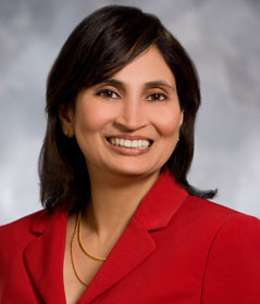 Padmasree Warrior, chief technology officer, Cisco