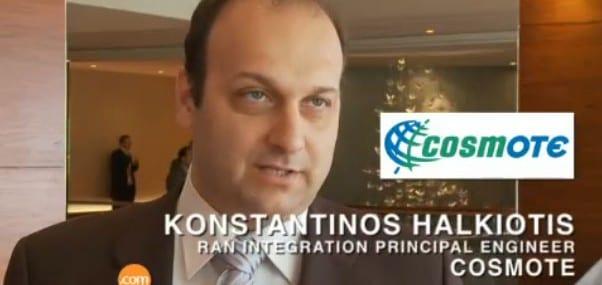 Konstantinos Halkiotis, RAN integration principal engineer, Cosmote