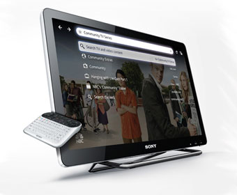 Sony unveils its Google TV unit