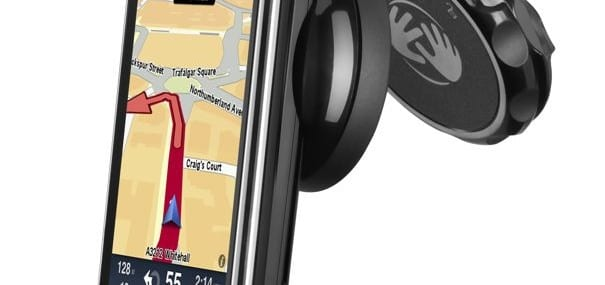 TomTom's iPhone app and the £100 cradle hardware