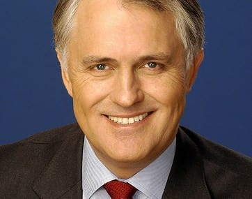 Malcolm Turnbull, MP, Australian Shadow Minister for Communications and Broadband