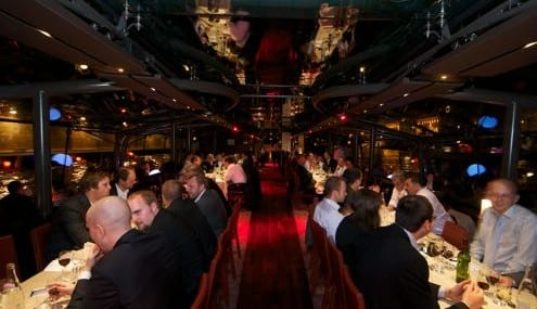 Aboard the Bateau Diamant, Broadband InfoVision Awards 2011