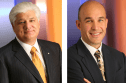 Current RIM co-CEOs and chairmen Mike Lazaridis and Jim Balsillie