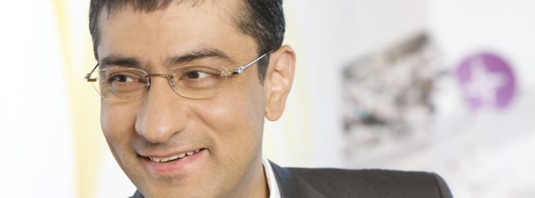 Rajeev Suri, who has been made CEO of Nokia