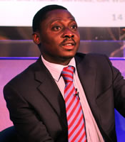 Dr Adesina Iluyemi, co-founder and vice president of MoDise is speaking at LTE MENA