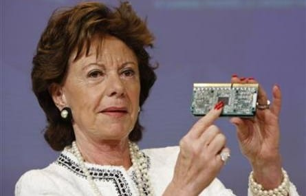 Neelie Kroes, Vice President of the European Commission
