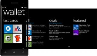 Microsoft's Windows Phone 8 OS has a new wallet feature and supports NFC