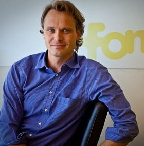 Alex Puregger, COO and director of the board for Fon