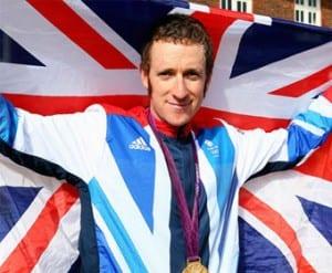 Olympic gold medalist Bradley Wiggins