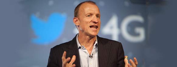 EE's CEO Olaf Swantee annouced the launch of EE's LTE-A service at a Huawei event in London