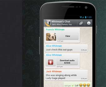 WhatsApp has 500 million users