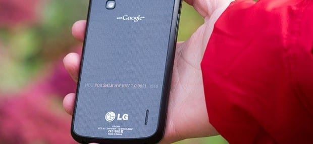Owners of Google's Nexus 4 tablet will have to make do without LTE