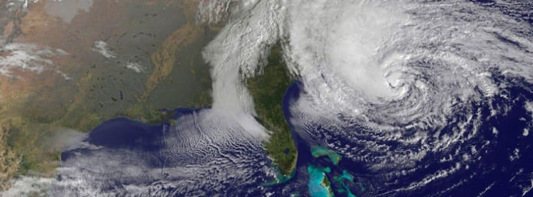 Hurricane Sandy is causing destruction across the East Coast of the US