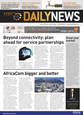 AfricaCom11_DayOne.indd