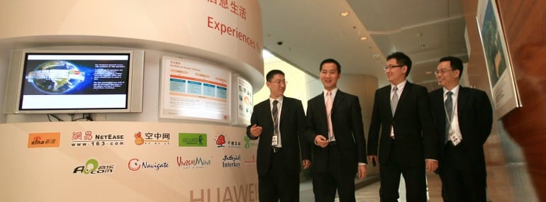 Huawei reportedly currently has 140,000 staff