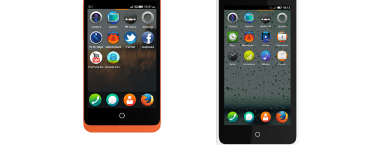The Geeksphone Keon and Peak are Firefox OS devices