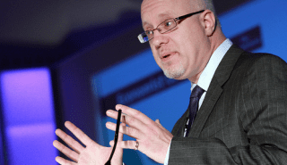 Financial sector commentator and author Brett King