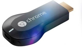 The Chromecast HDMI dongle