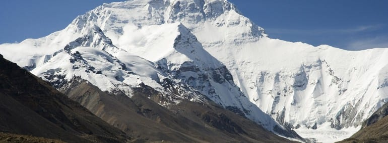 Mount Everest is the highest mountain in the world, with a peak 5,200m above sea level