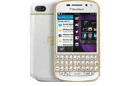BlackBerry's Q10 Gold