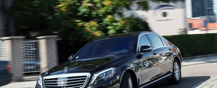 The Mercedes-Benz S-Class, S 500 Intelligent Drive research vehicle