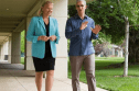 Tim Cook, Apple CEO and Ginni Rometty, IBM CEO, walking the walk and talking the talk