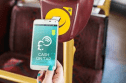 On the buses with NFC