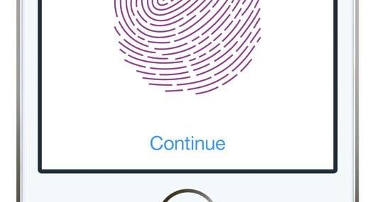 Apple's Touch ID fingerprint reader