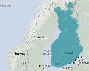 Ukko intends to cover nearly all of Finland