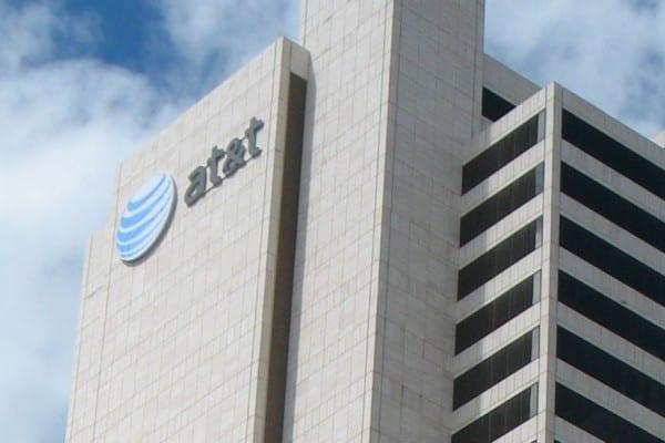 AT&T logo office