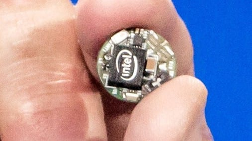 The Intel Curie wearables module