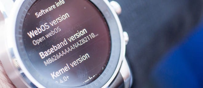 The prototype LG webOS smart watch - image credit: androidcental.com