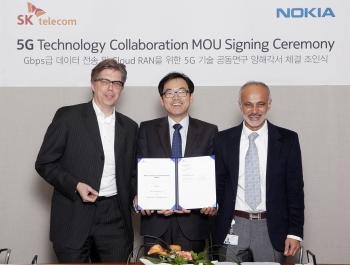 Nokia SK Telecom Mou