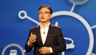Samsung Electronics boss BK Yoon urges collaboration over IoT